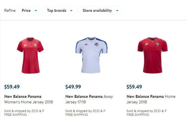Precio de la camiseta en Walmart no está autorizado  32e7e4d15bfb6