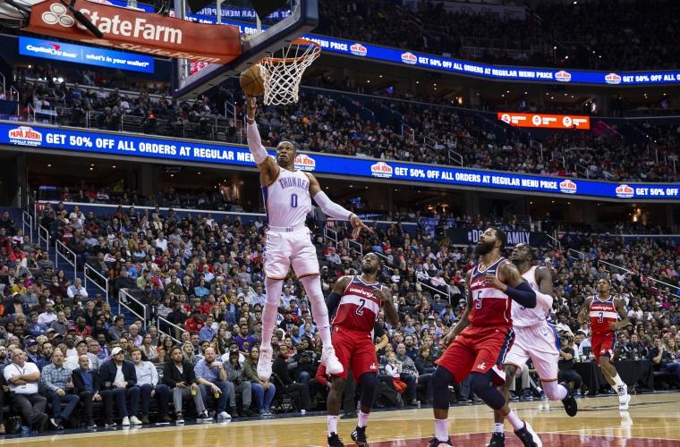 Thunder vence a Pelicans, pero pierde a Westbrook