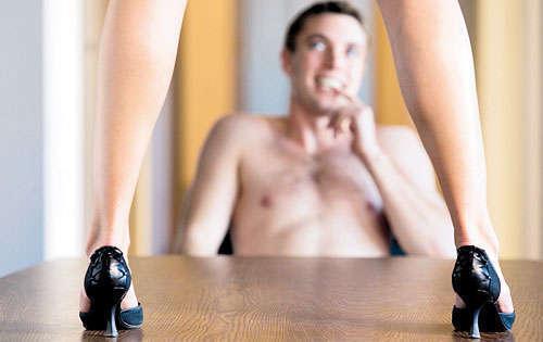 sexo con tacones