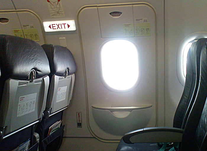 Salidas de Emergencia de un Avion de Emergencia de un Avión
