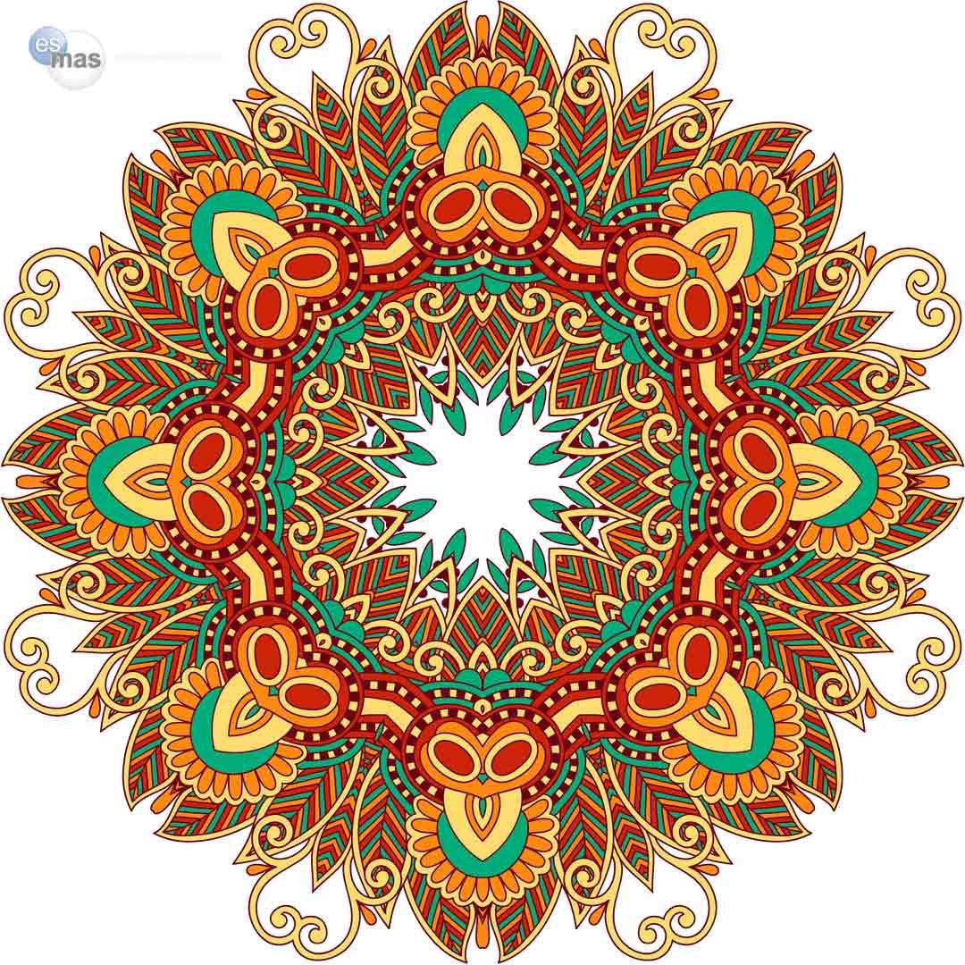 Conoce el poder de los mandalas y sus colores Critica