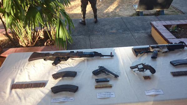 Incautan 59 paquetes de cocaína y armas en Yaviza - Crítica