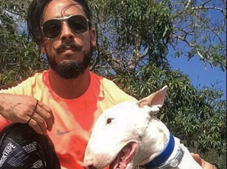 Marco Oses aclara que no maltrata a su perro, jugaba con él | Critica