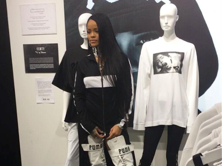 c4eef72dcc94c Rihanna ha sido una bendición para la tradicional firma de ropa deportiva.