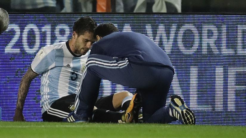 ¿Se lesionó nuevamente Fernando Gago?