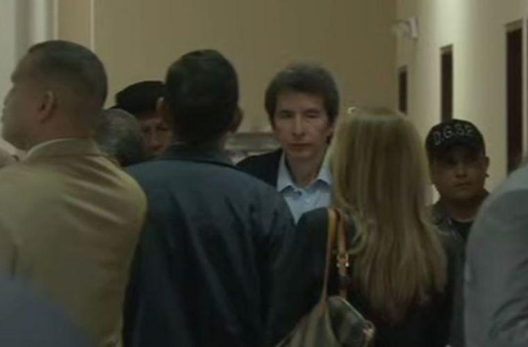 Exmagistrado Moncada Luna acude a audiencia por reemplazo de pena