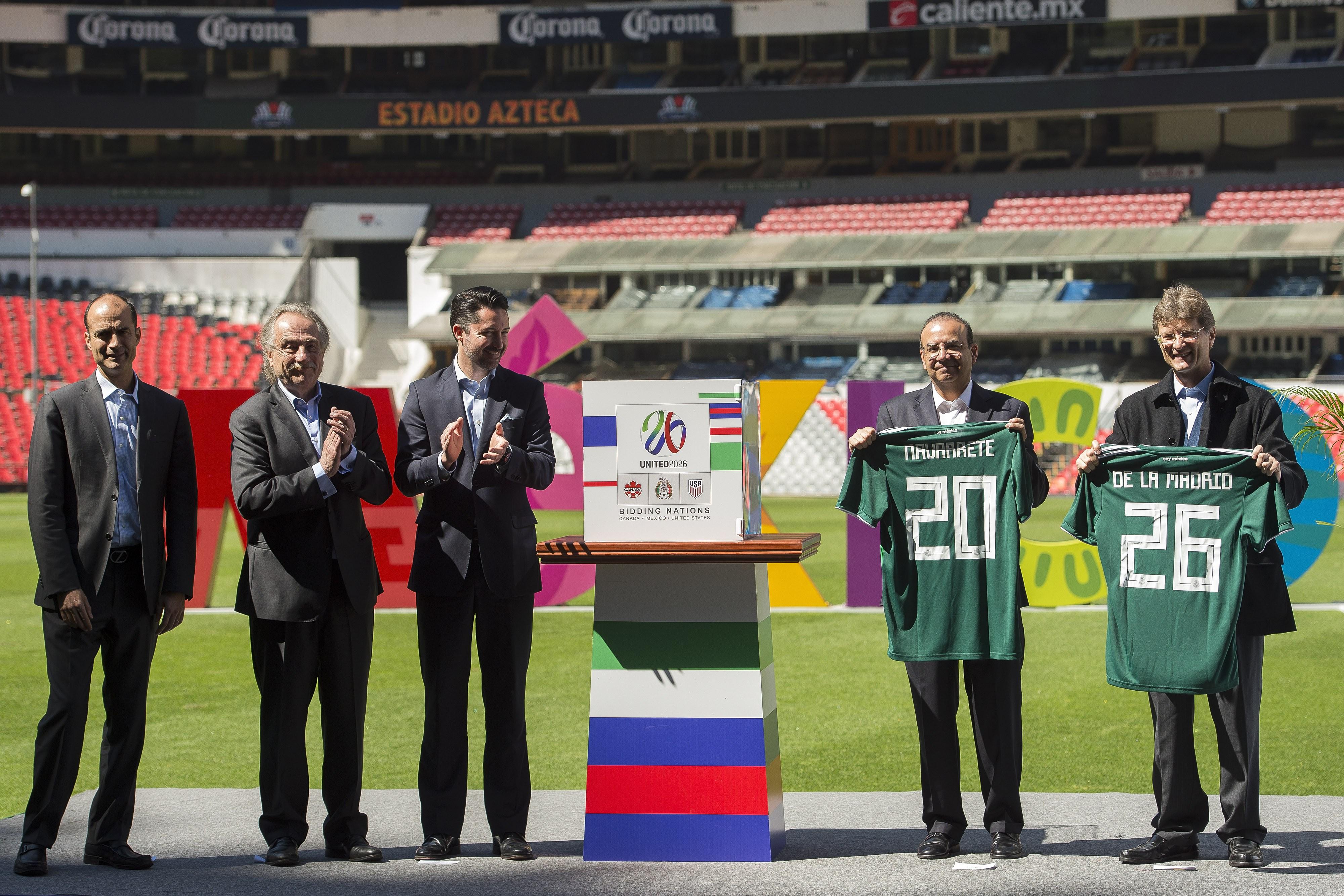 Apoya Conmebol candidatura de EU, México y Canadá para Mundial 2026