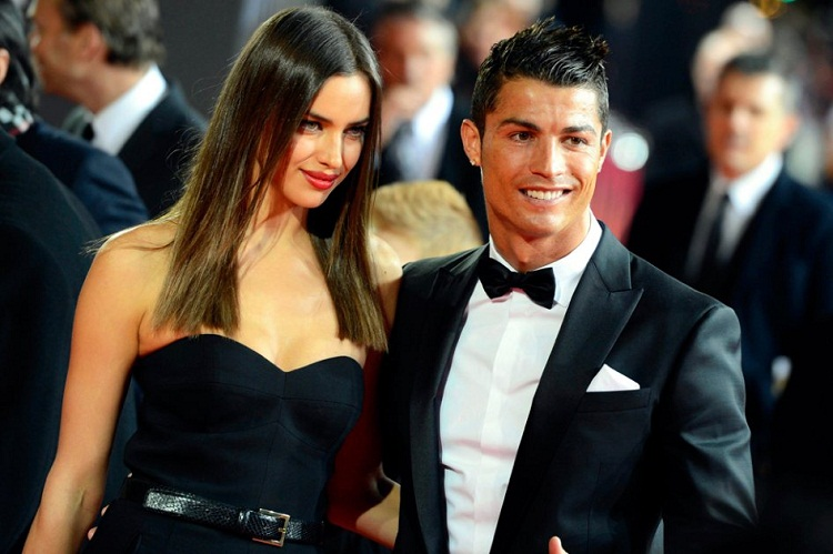 Cristiano Ronaldo no olvida a la bella Irina Shayk