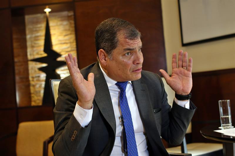 Fiscalía de Ecuador investiga a Correa por financiamiento de las Farc