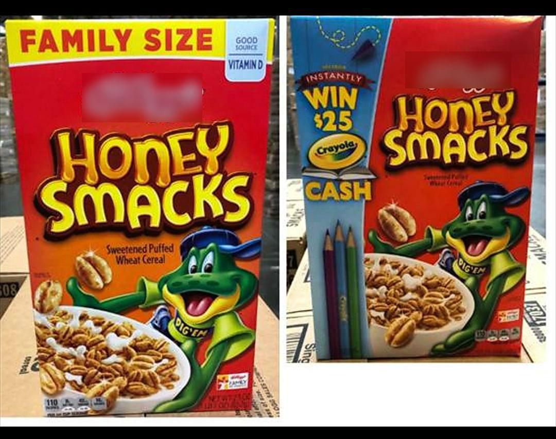 Kellogg retira cajas de cereal Honey Smacks por posible salmonella