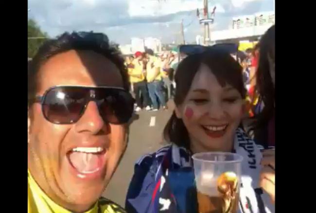 Mundial Rusia 2018: Colombiano, en polémica por insultar a japonesas en Rusia