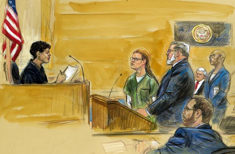 Presunta espía rusa se declara culpable