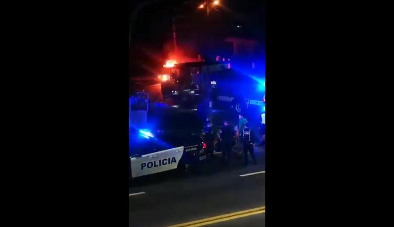 Intento de robo, persecución y choque en Betania (Video) - Crítica