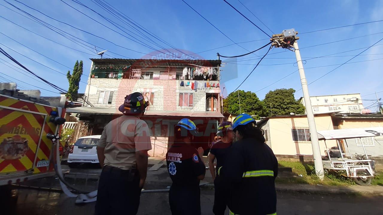 Explosión e incendio en una casa de alquiler en Monte Oscuro ...