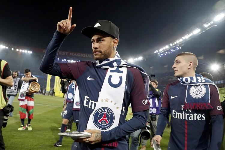 Neymar y Emery, los mejores de la Ligue 1