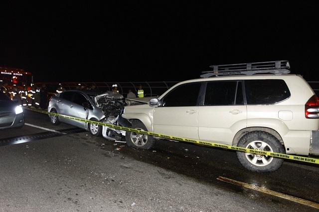 MP investiga accidente de tránsito ocurrido en el Puente de Las Américas
