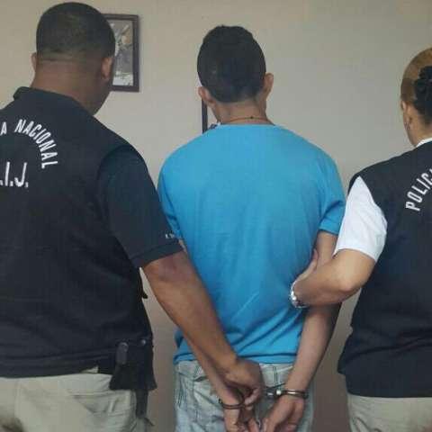 Detenido por implicación en robo. (Foto:PN)