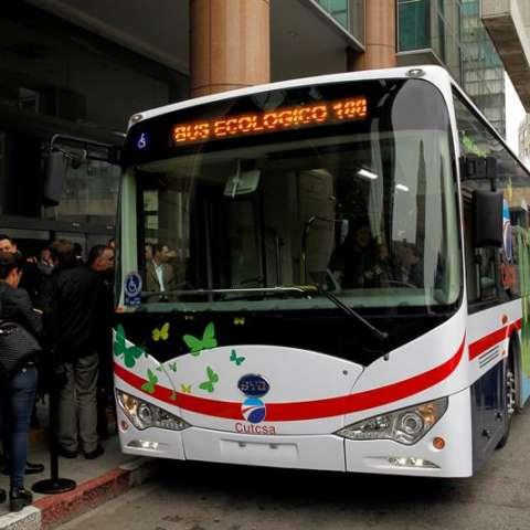 Esta iniciativa es para fomentar el transporte colectivo ecológico.  /  Foto: EFE
