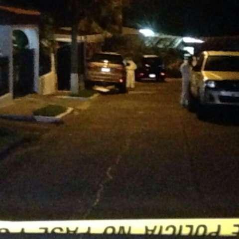 Area donde ocurrió el homicidio. (Foto: Delfia Cortez)