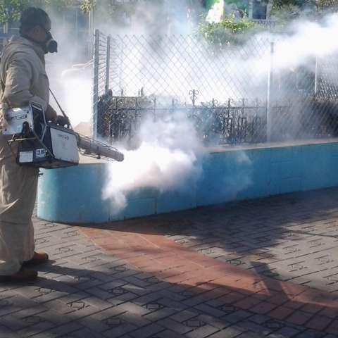 Jornada de fumigación por el Minsa. (Foto: Archivo)