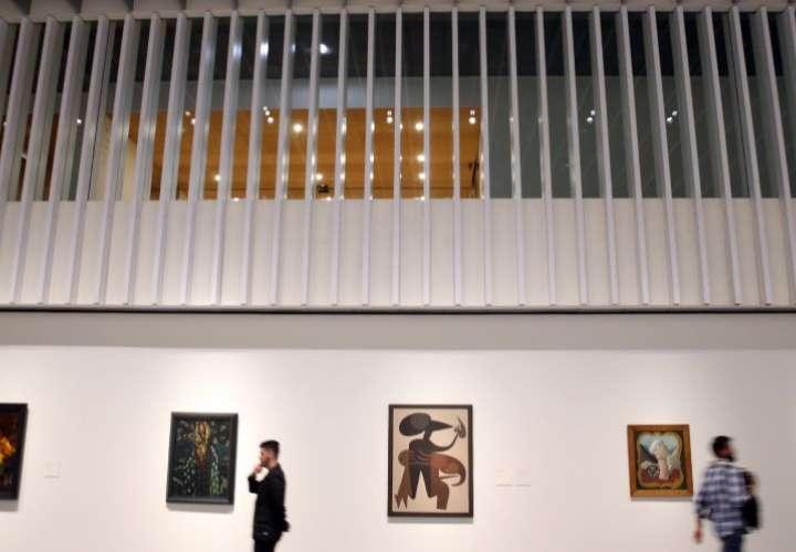 El Pompidou Málaga se suma a otros museos de la ciudad: Picasso, Thyssen, CAC, Museo de Arte Ruso, La Térmica...  ALEJANDRO RUESGA