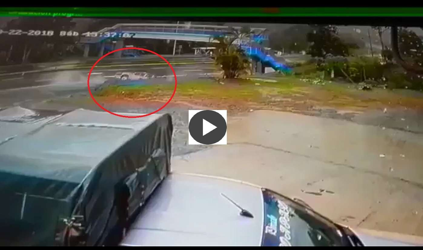 Captura de video @TraficoCPanama